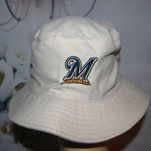 Strange Mountain Dew Milwaukee Brewers Boonie Hat 2 Side Gmtry Best Dining Table And Chair Ideas Images Gmtryco